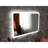 Зеркало с подсветкой для ванной комнаты Катани 110х70 см