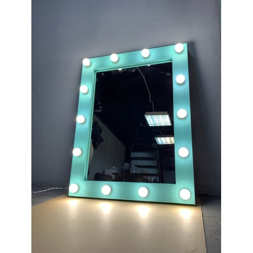 Гримерное зеркало с подсветкой по периметру 90х70